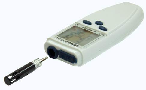 Внешний вид термогигрометра Ива-6А